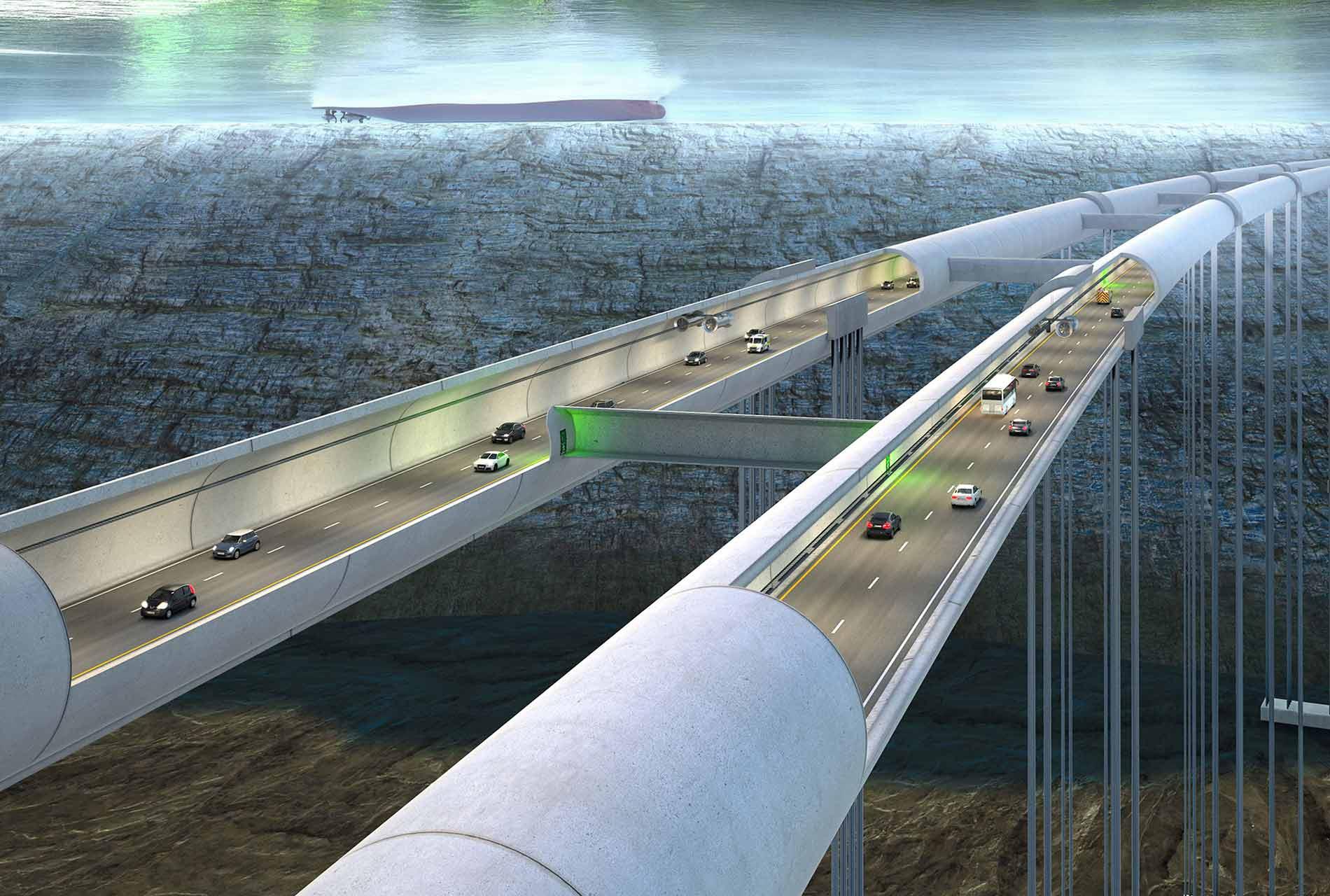 Norwegens gigantische Tunnelbauprojekt