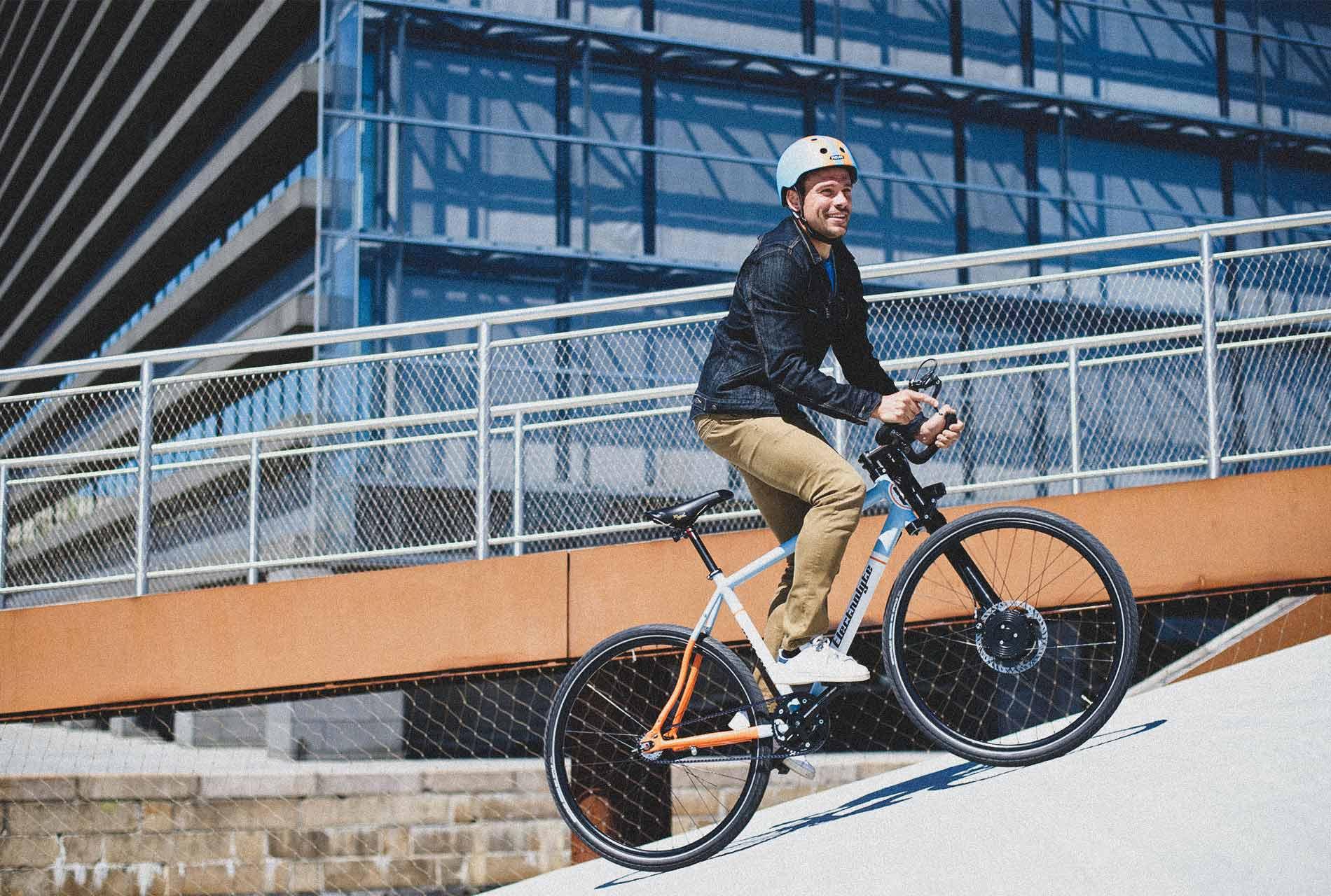 Straßenfeger - E-Bike Modell