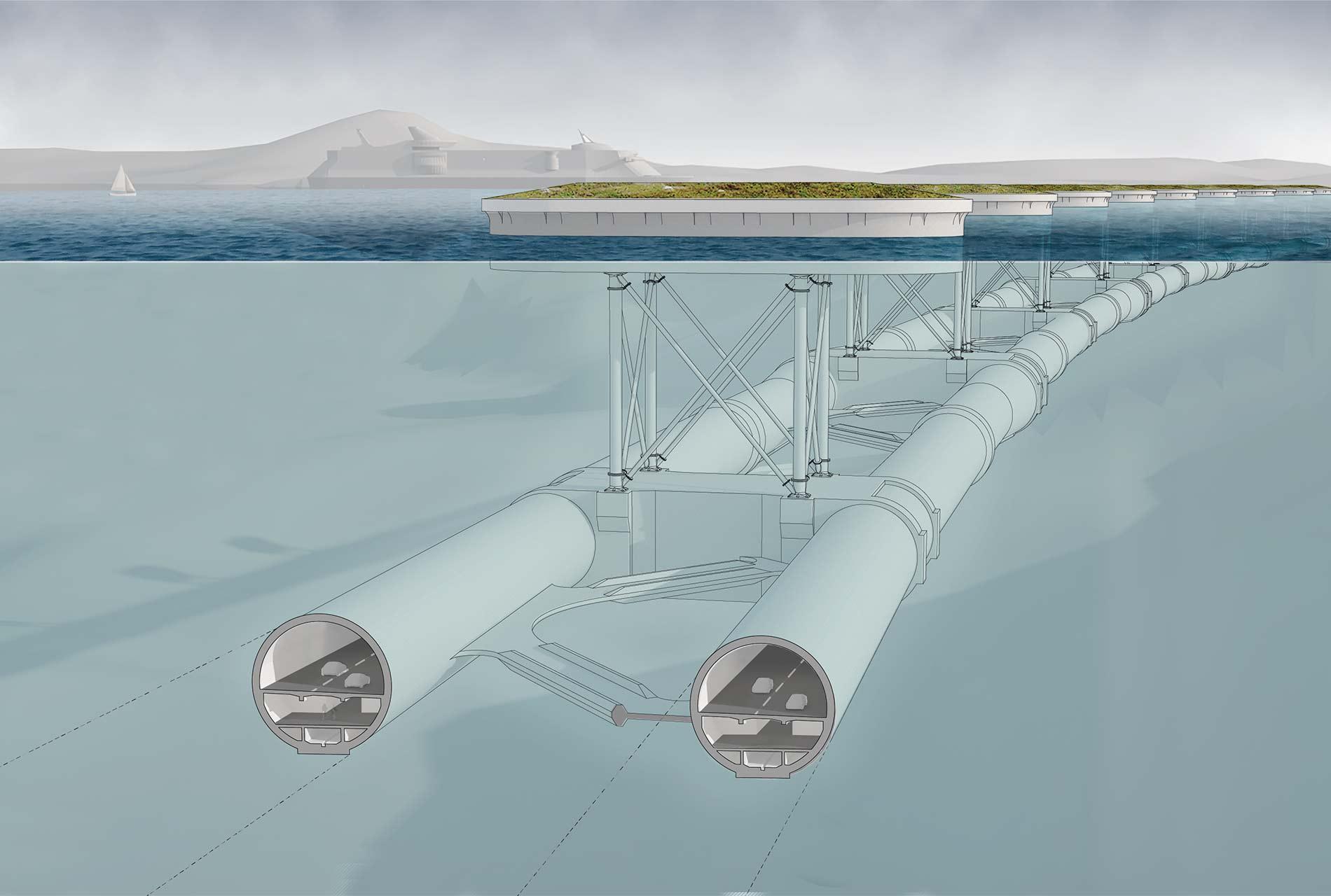 Unterwassertunnel - Röhren